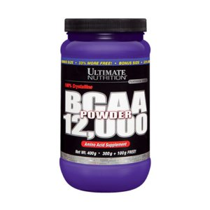 BCAA 12000 POWDER (457g) - ULTIMATE NUTRITION