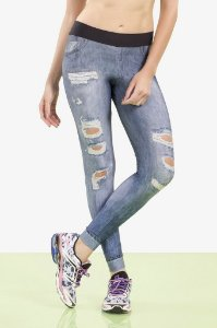 LEGGING IN RIPPED JEANS- Live Oficial