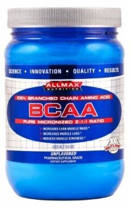 BCAA Pure Micronized 2:1:1 - 400g - Allmax Nutrition