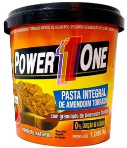 Pasta de Amendoim com granulado Power One (1kg) - Nut