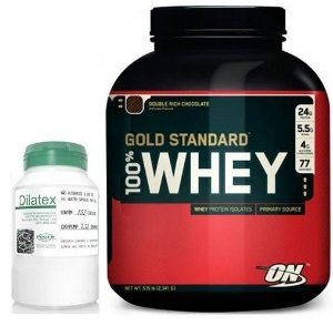 Combo com Whey Gold (2270g) + Dilatex (152 caps)
