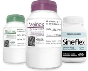 Combo Explosão (Dilatex +Veinox+Sineflex) - Power Supplements