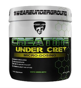 Creatine Under-Cret 60g - Sabor Exotic Lemon - Marca Under Labz