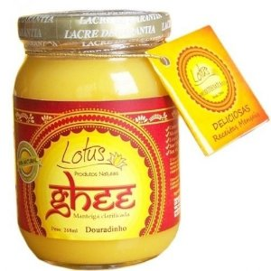 MANTEIGA CLARIFICADA GHEE LOTUS - 200ml