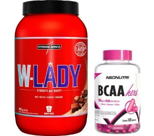 Combo W Lady (907g) + BCAA Hers (120 caps)