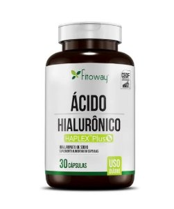 ACIDO HIALURONICO 80MG 30 CAPS - FITOWAY CLEAN