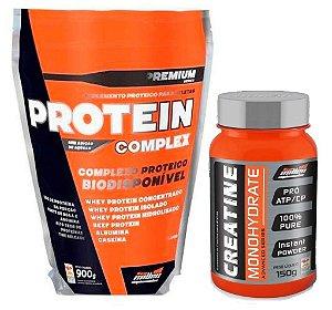 Combo Protein Complex (900g) + Creatine Monohidratada (150g) - New Millen
