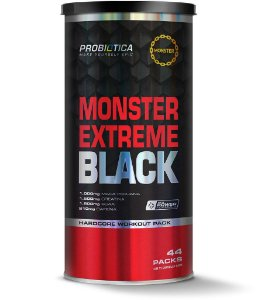 Monster Extreme Black (44packs) 523g - Probiótica