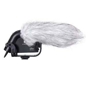 MIcrofone Direcional p/ camera Digital e Filmadora  BOYA BY-VM190