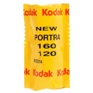 Filme Kodak Portra 160 120 (1 rolo / unid)