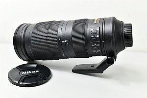 Lente VR Nikon AF-S NIKKOR 200-500mm f / 5.6E ED / USADA