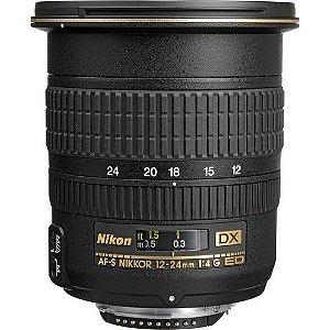 Objetiva Nikon AF 12-24mm f/4G IF-ED AF-S DX