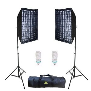 Kit  Iluminação Luz Continua  Ágata II Soft  Light 50x70 Greika -  newborn 110V