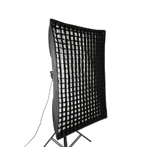 SoftBox Bowen's Strip Light 80x120cm com Grid 5x5cm Ref: 80x120cm_Bowens