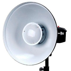 Rebatredor Beauty  Dish p/Flash Branco ( REF: BDR-W420 ) Godox-Greika