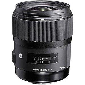 Lente Sigma 35mm f/1.4 DG HSM art para Nikon Dslr