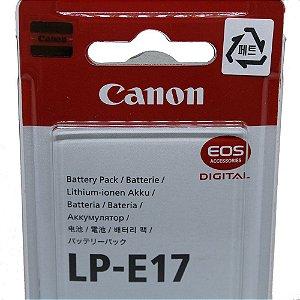Bateria de iões de lítio Canon LP-E17