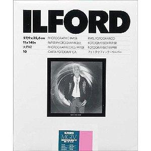 Papel Fotográfico Ilford Multigrade IV Resina Brilhante (Glossy) - MGRCDL 1M 24x30,5cm (10 Folhas)