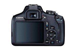 Câmera Canon EOS Rebel T7 PREMIUM KIT Lentes 18-55mm e 55-250mm IS