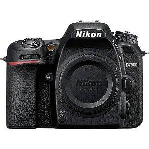 Câmera DSLR Nikon D7500 So Corpo