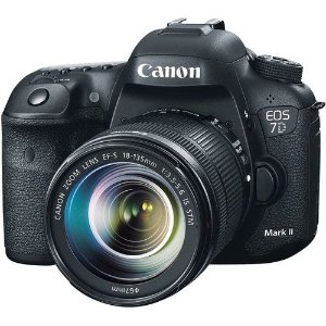 Camera Canon Digital EOS 7D Mark II Lente STM 18-135mm f/3.5-5.6   20.2MegaPixles