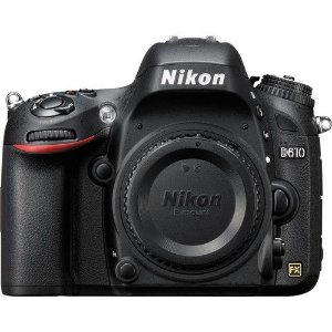 Camera Digital Nikon  D610 Corpo  24.3MegaPixles Full Frame