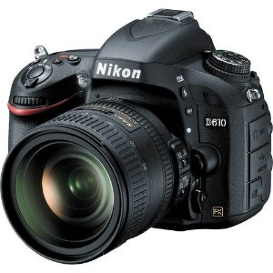 Camera Digital Nikon D610  24.3MegaPixles com Lente 24-85mm   f/3.5-4.5G ED VR