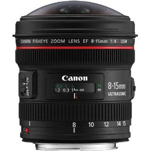 Objetiva Canon Olho de Peixe EF 8-15mm f/4L USM