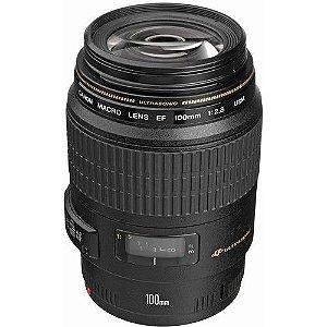 Objetiva Canon  Macro 100mm f2.8 EF USM