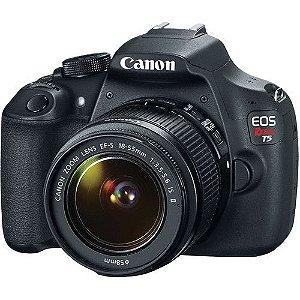Câmera Canon EOS Rebel T5 com Lente EF-S 18-55mm f/3.5-5.6