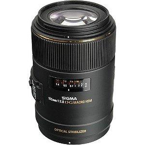 Lente Macro Sigma 105mm f / 2.8 EX DG OS HSM para Nikon F