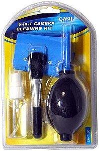 Kit Limpeza Para Câmeras E Lentes  6 x1 Easy Ec-a7105