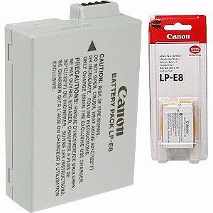 Bateria Lithium Canon LP-E8  7.2V  1120mAh