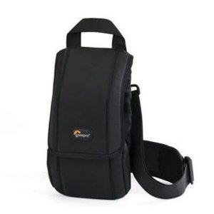 Bolsa Lowepro S&F Quick Flex 75 AW LP36277 para Flash ideal para SB-910 / 600 EX-RT com capa de chuva