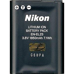 Bateria Nikon EN-EL23  de Íons de Lítio Recarregável  3,8V/1.850mAh