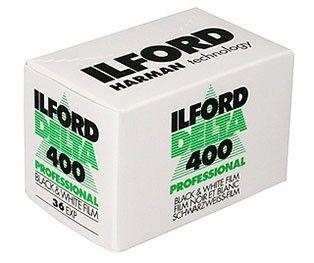 Filme Ilford - DP400 135 36  Preto e Branco
