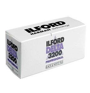 Filme Ilford - DP3200 120 Preto e Branco
