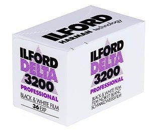 Filme Ilford - DP3200 135 36 Preto e Branco