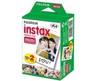 Filme Fuji Instax  Pack com 20 Unidades