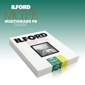 Papel Fotográfico Ilford Multigrade Classic Fibra Fosco / Matte - MGFB5K 17,8X24CM (100 Folhas)