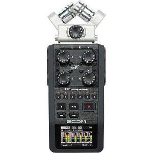 Gravador  Portátil Profissional Zoom H6