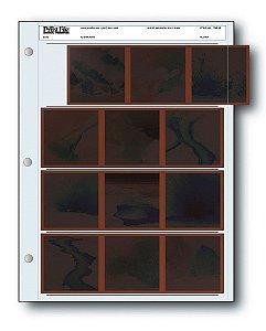 Folha de Proteção Print File 120-4B para Negativos 120 6x6, 6x4.5 e 6x7 Pack com 25 Folhas
