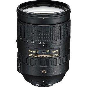 Objetiva  Nikon AF-S NIKKOR 28-300mm f/3.5-5.6 G ED VR