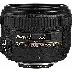 Lente Nikon AF-S NIKKOR 50mm f / 1.4G