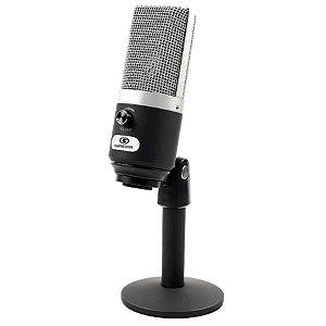 Microfone USB Condensador FO-USM2  Cameras e Computador