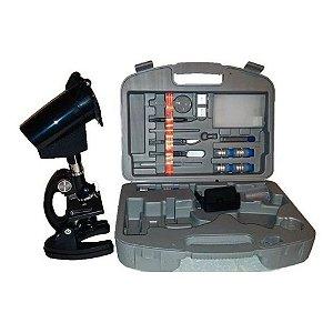 Microscópio Xsp 1200xt Com Ampliação 300x 600x E 1200x