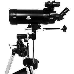 Telescópio Profissional Refletor Maksutov F1250 D90mm - Greika