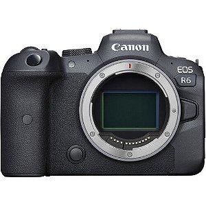 Câmera digital Canon EOS R6 sem espelho (somente corpo)