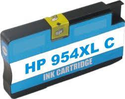 Cartucho de Tinta Compatível HP 954XL L0S62AB Ciano | 7730 7740 8210 8710 8720 8730 | Importado 26ml