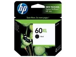 Cartucho HP Original Preto 60XL